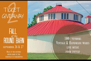Fall at The Round Barn GIVEAWAY!!!!