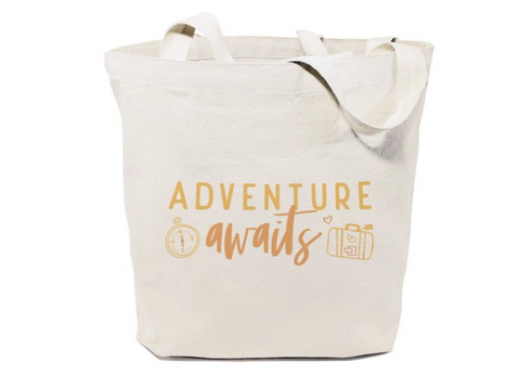 Adventure Awaits Tote and Handbag