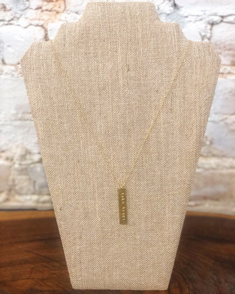 Gold Plate Necklace