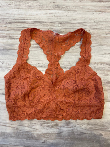 Lace Bralette in Brick