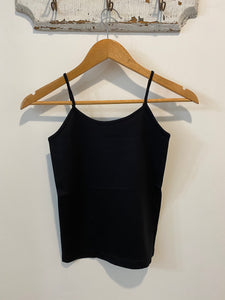 Basic Seamless Cami in Black
