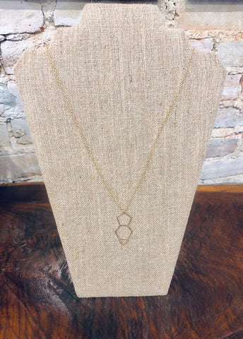 Three Shape Necklace