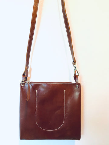 Bask Brown Crossbody
