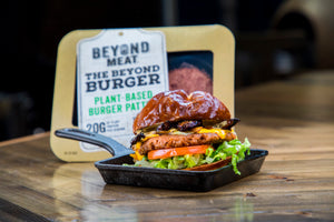 "Vegan Burger Start-Up ""Beyond Meat"" Reportedly Planning IPO"