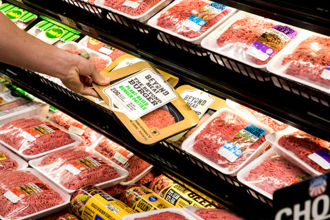 Beyond Meat in the Meat Aisle