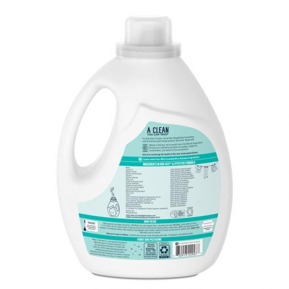 Seventh Generation – Ultra Power Plus Laundry Detergent, Fresh Citrus Scent, 54 Loads
