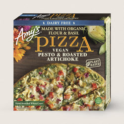Amy's – VEGAN PESTO & ROASTED ARTICHOKE PIZZA
