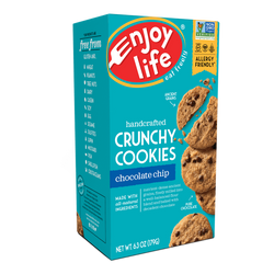 Enjoy Life – Handcrafted CRUNCHY COOKIES, Chocolate Chip