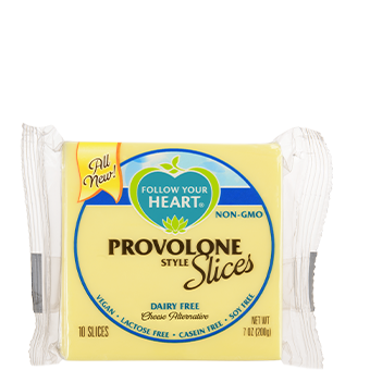 Follow Your Heart – Provolone Slices
