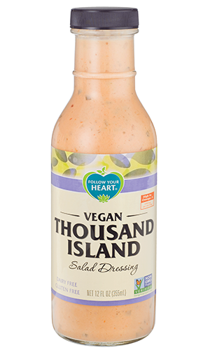 Follow Your Heart – Vegan Thousand Island, Salad Dressing