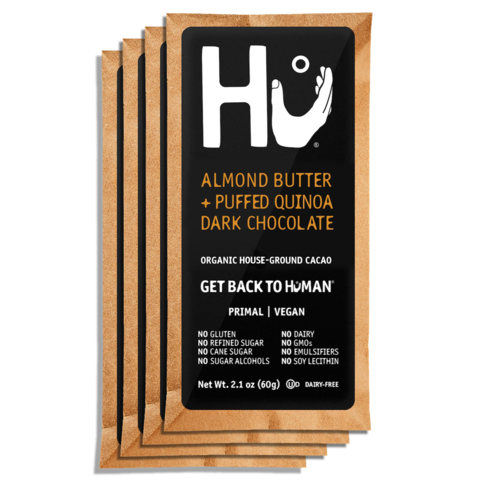 Hu Chocolate Bar (ALMOND BUTTER + PUFFED QUINOA)