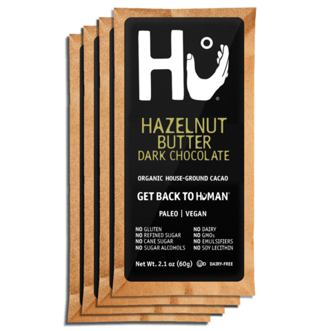 Hu Chocolate Bar (HAZLENUT BUTTER DARK CHOCOLATE)