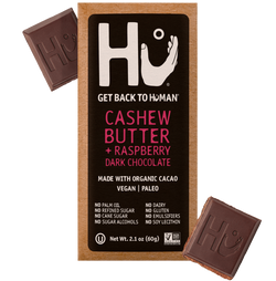 Hu Kitchen – Chocolate Bar (CASHEW BUTTER + RASPBERRY)