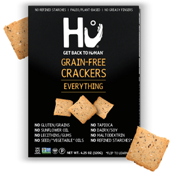 Hu Kitchen – EVERYTHING GRAIN-FREE CRACKERS