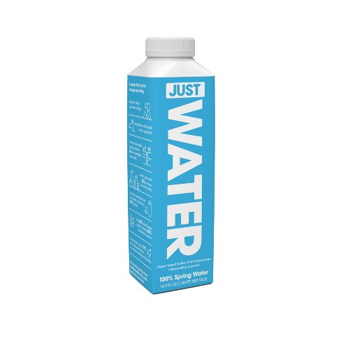 JUST Water - 100% Spring Water - 16.9 fl oz