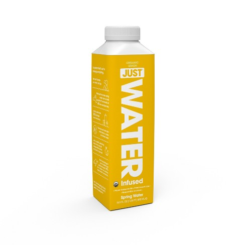 JUST Water - 100% Organic Lemon Infused, 16.9 fl oz