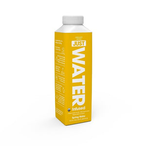 JUST 100% Organic Lemon Infused Water - 16.9 fl oz Bottle