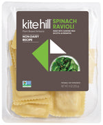 Kite Hill – Spinach Ravioli w/ Almond Milk Ricotta Alternative