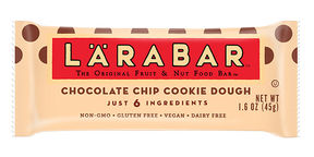 LÄRABAR Chocolate Chip Cookie Dough Fruit and Nut Bars, 1.6 Oz