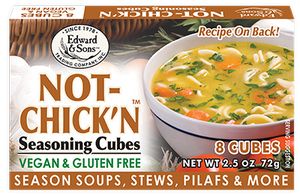 Edward & Sons Bouillion Cubes - NOT-CHICK'N