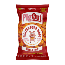 Pig Out – Hella Hot, Pigless Pork Rinds