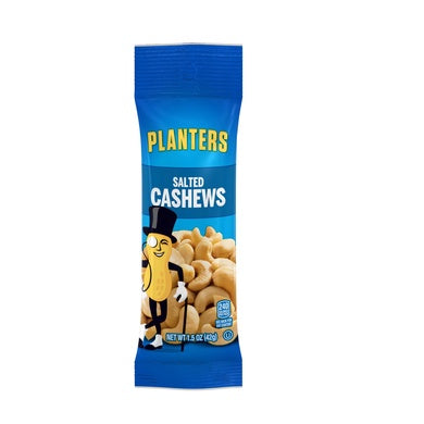 Planters — Salted Cashews, 1.5oz