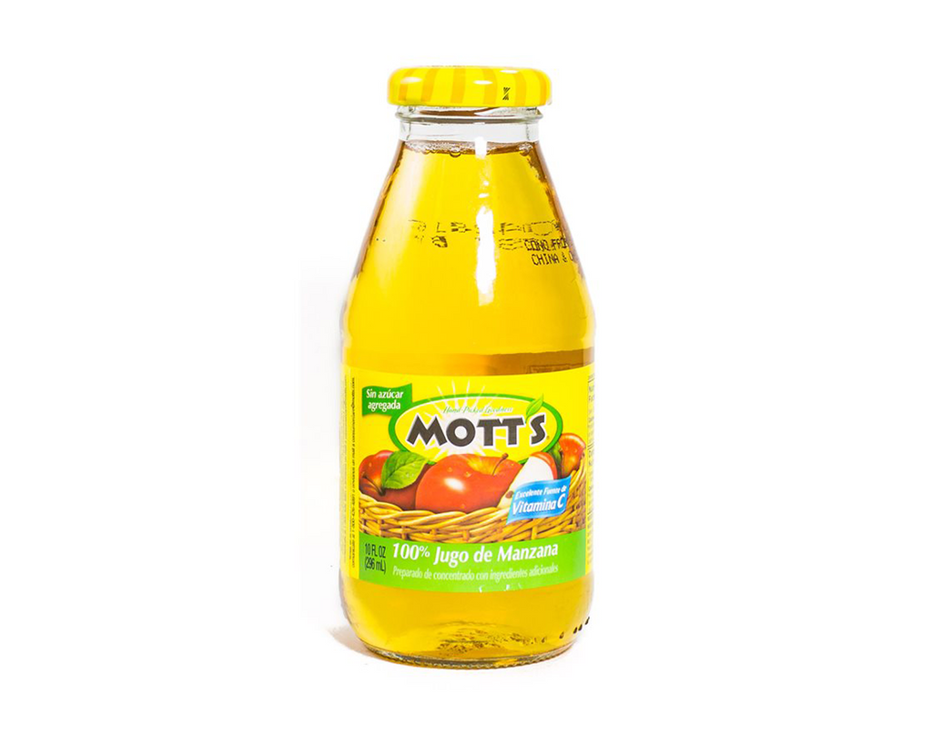 Mott's 100% Apple Juice (Glass Bottle) – 10 oz
