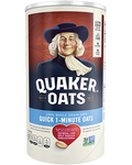 Quaker Oats Quick 1-Minute Oats, 18oz