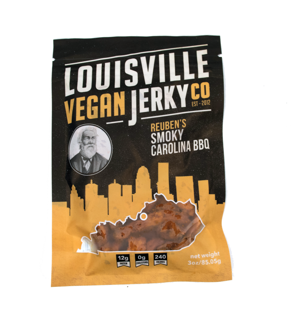 Louisville Vegan Jerky Co. - Reuben's Smoky Carolina BBQ