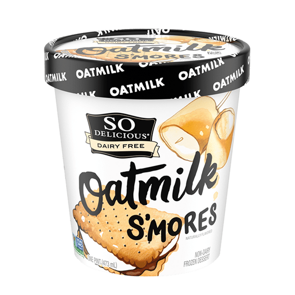 So Delicious – Oat Milk S'mores, Non-Dairy Frozen Dessert