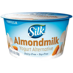 Silk – VANILLA ALMONDMILK DAIRY-FREE YOGURT ALTERNATIVE