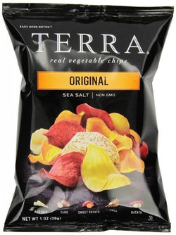 Terra Original Sea Salt Vegetable Chips, 1 Oz Bag