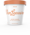 Van Leeuwen Ice Cream, Vegan, Salted Caramel, 14 Oz (Frozen Dessert)