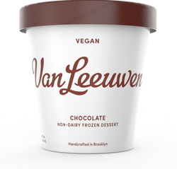 Van Leeuwen Ice Cream, Vegan, Chocolate, 14 Oz (Frozen Dessert)