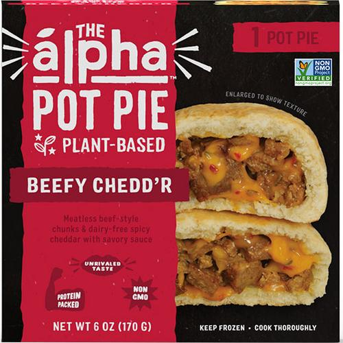 Alpha Foods — Beefy Chedd'r Pot Pie