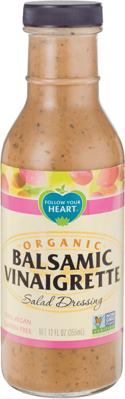 Follow Your Heart – Organic Balsamic Vinaigrette, Salad Dressing