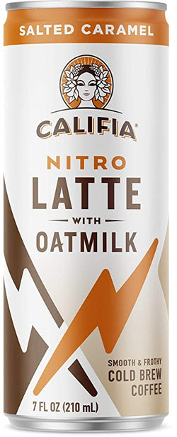 Califia Farms – Salted Caramel Nitro Draft Oatmilk Latte