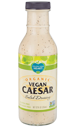 Follow Your Heart – Organic Vegan Caesar, Salad Dressing