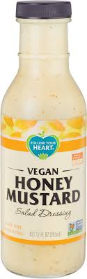 Follow Your Heart – Vegan Honey Mustard, Salad Dressing