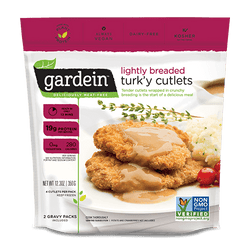 Gardein – Turk'y Cutlets, Lightly Breaded