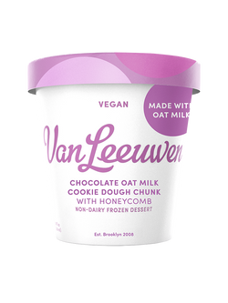 Van Leeuwen – Oat Milk, Chocolate Cookie Dough Chunk w/ Honeycomb (VEGAN)