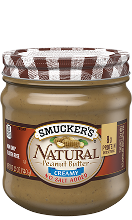 Smucker's® - NATURAL CREAMY PEANUT BUTTER
