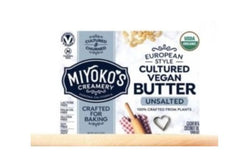 Miyoko's European Style Cultured Vegan Butter, 8oz (Unsalted)