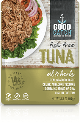 Good Catch - Fish Free Tuna (OIL & HERBS)