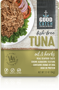 Good Catch – Fish Free Tuna (OIL & HERBS)