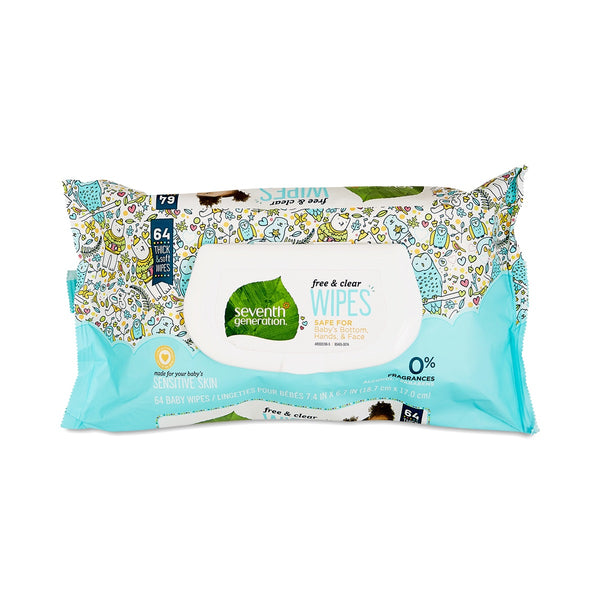 Seventh Generation — Free & Clear Baby Wipes
