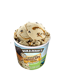 Ben & Jerry's – Caramel Chocolate Chunk (Mini Cup)