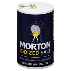 Morton — Iodized Salt, 26 oz