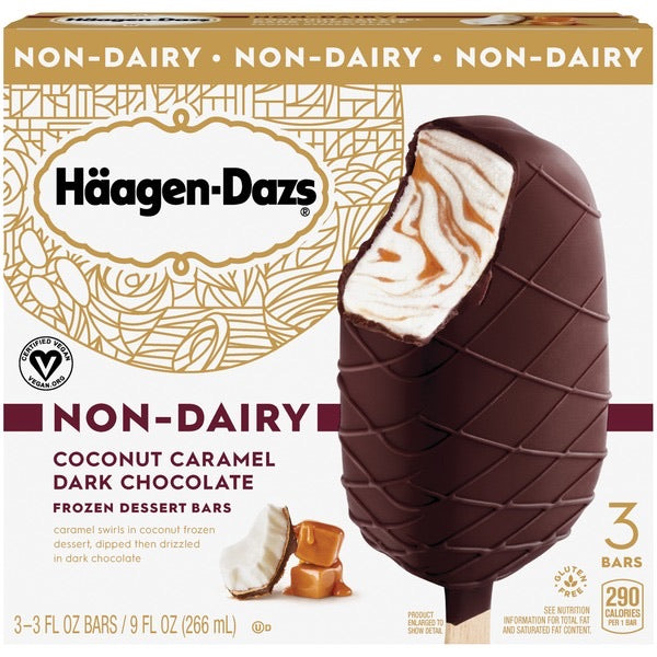 Häagen-Dazs - Coconut Caramel Dark Chocolate Non-Dairy Bar