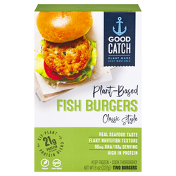 Good Catch — Plant Based Fish Burgers